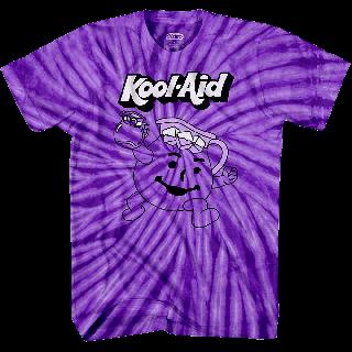 Kool-Aid Grape Tie-Dye T-shirt